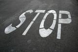 road stop poster