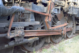locomotive wheels 2 poster