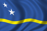 flag of curacao poster