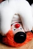 clown upside down poster