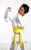 happy karate kid poster