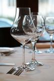 wine glasses poster