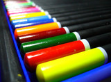 pencils colors  line 03 poster