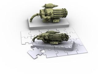 fantasy weapon puzzle