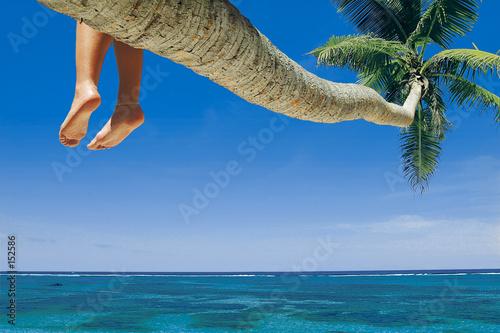 Leinwanddruck Bild beach