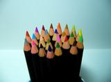 pencils colors poster