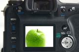 digital apple poster