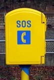 sos phone box poster