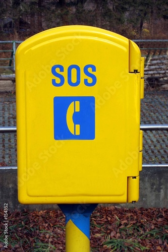 sos phone box
