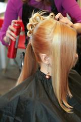 woman coiffure