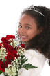 stock photography: little princess with tiara and