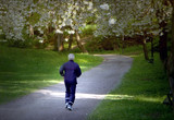 man jogging - Fine Art prints