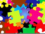 jigsaw wallpaper poster