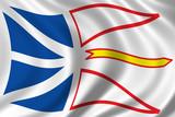 flag of newfoundland poster