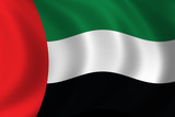 flag of the united arab emirates poster