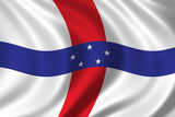 flag of the netherlands antilles poster