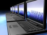 laptops network poster