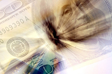 abstract dollars