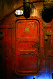 rusted steel door poster