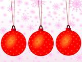 snowflakes xmas day poster