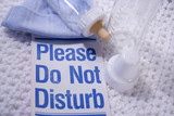 please do not disturb baby poster