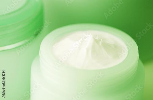 Leinwanddruck Bild face cream