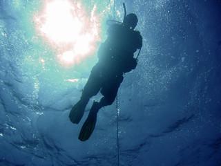 man under water 7