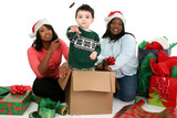 stock photography: christmas scene poster