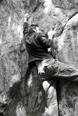 climbing granit