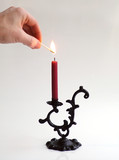lighting the candle poster