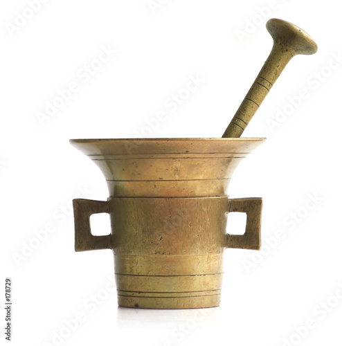antique mortar