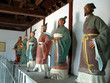 statuarys of famous chiese historical characters