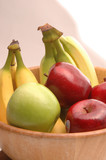 bananas apples green red 1 poster