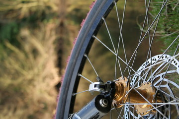 mountain bike detail one