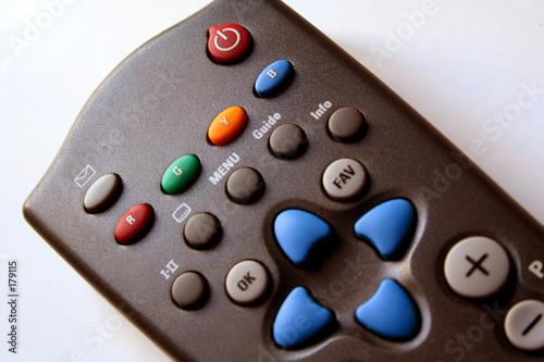 Plagát remote control