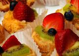 strawberry, kiwi dessert poster