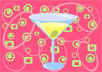 martini time! (pink)