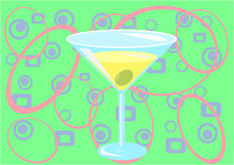 martini time! (green)