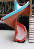 playground equipment - slide poster