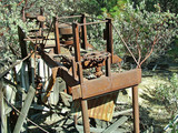 gold mill site machinery poster