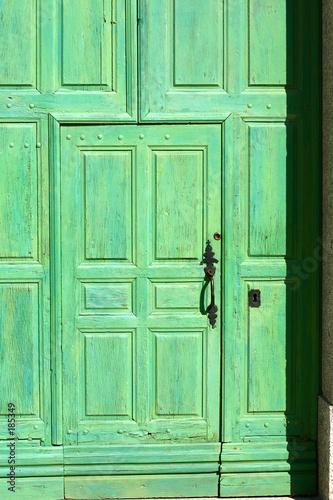 Leinwandbild Motiv paint on door