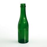 green bottle poster
