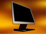 flat panel monitor poster