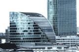 corporate buildings in london poster