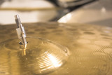 focus on cymbal poster