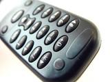 closeup of cellular phone poster