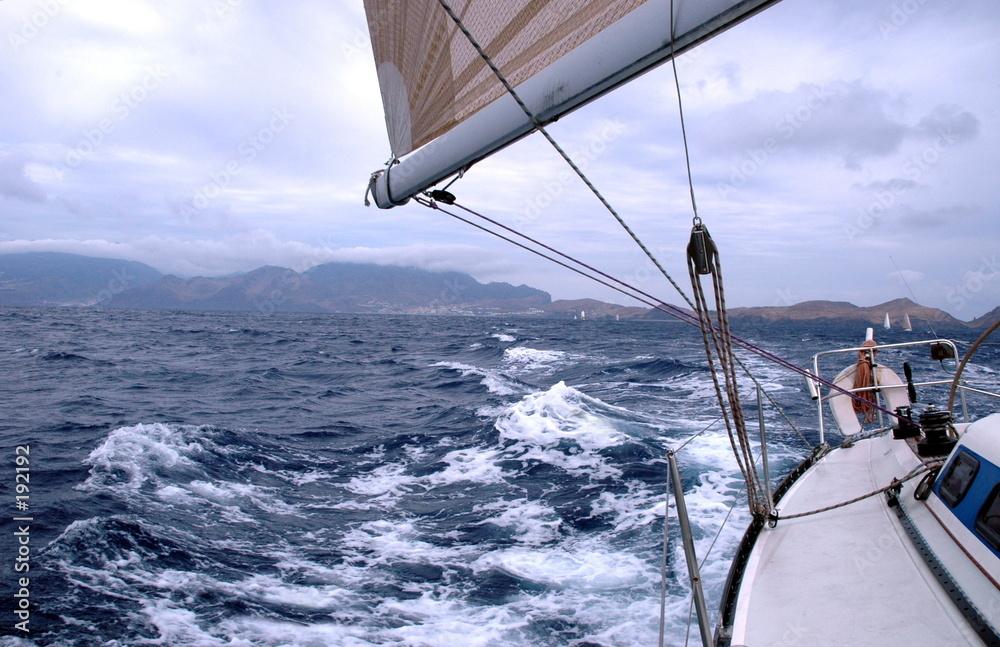 oceanu wyścig żagiel - powiększenie