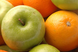 green apples navel oranges poster