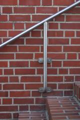 außentreppe mit metallgeländer