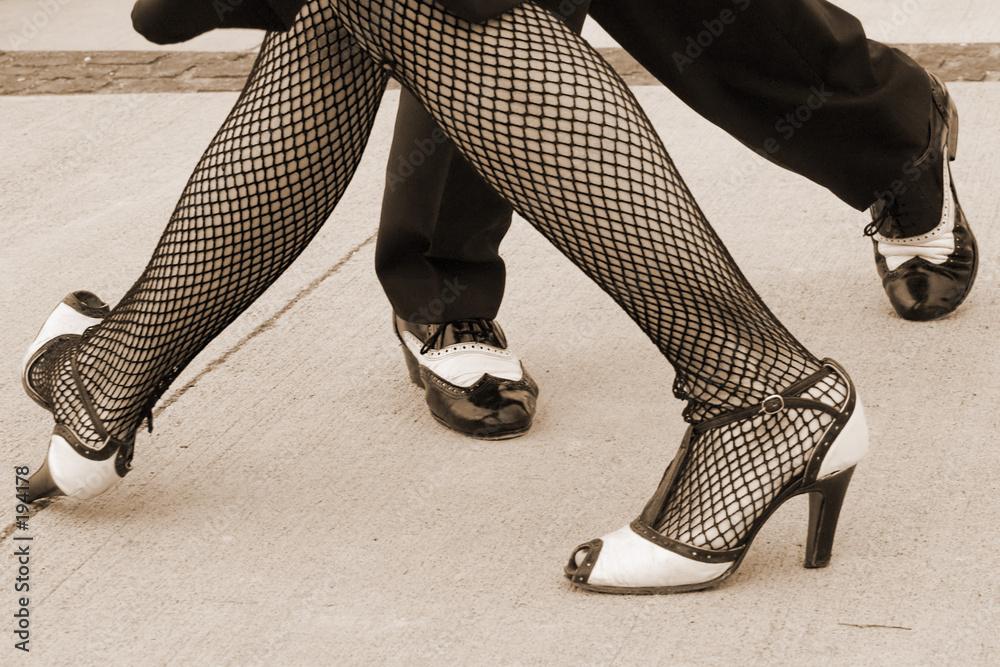 taniec argentyńską gładki - powiększenie